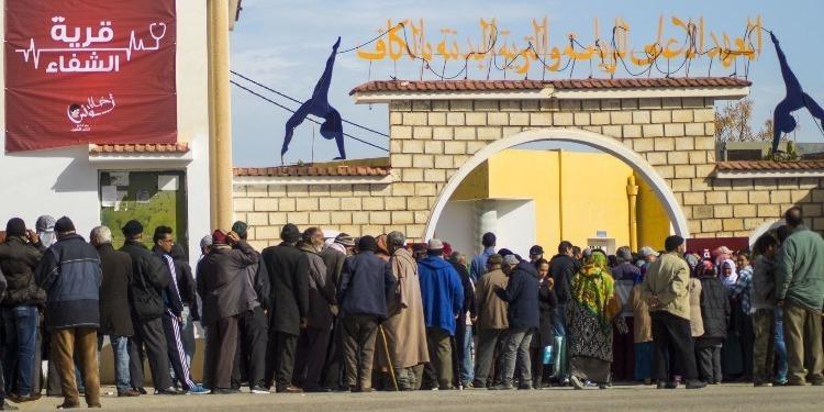 توافد حوالي 4000 مُواطن على قرية الشفاء بالكاف في يومها الثالث